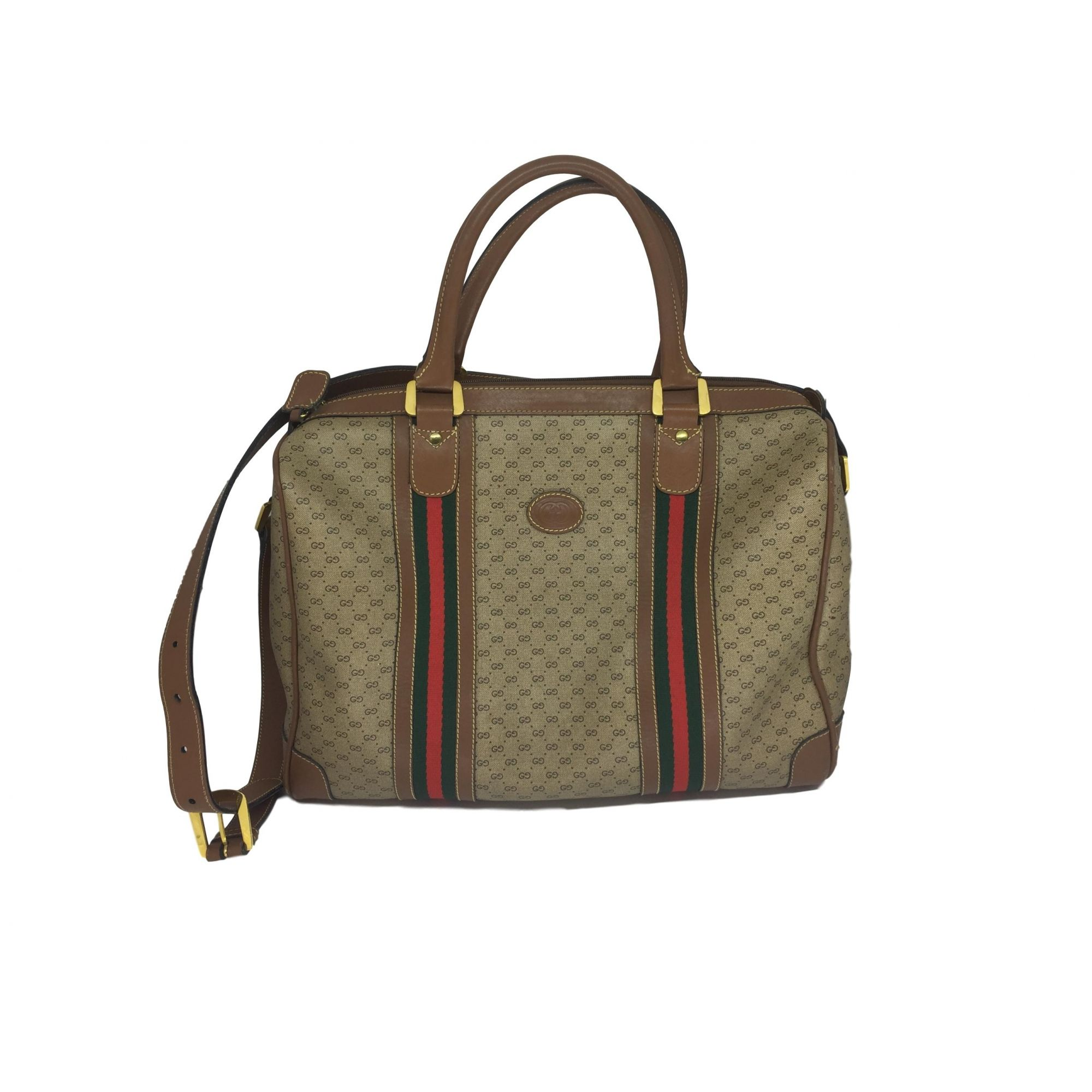 91fce7fa8 Mala Gucci Monograma listras - Paula Frank | Bolsas de luxo ...