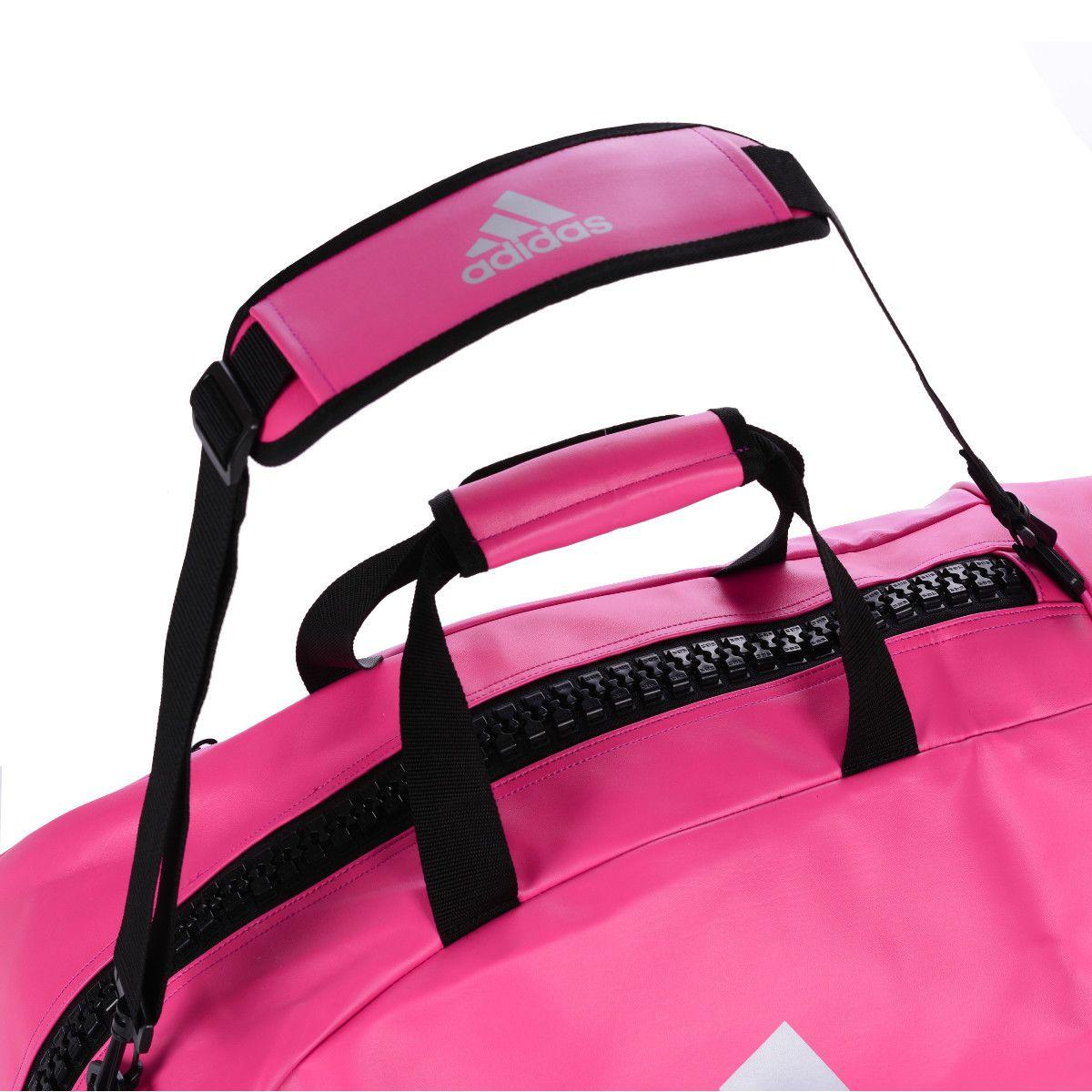 Contra la voluntad acerca de Receptor  Bolsa Mochila Adidas Judo 2in1 PU Rosa/Prata - Made4fighters | Feita para  lutadores !