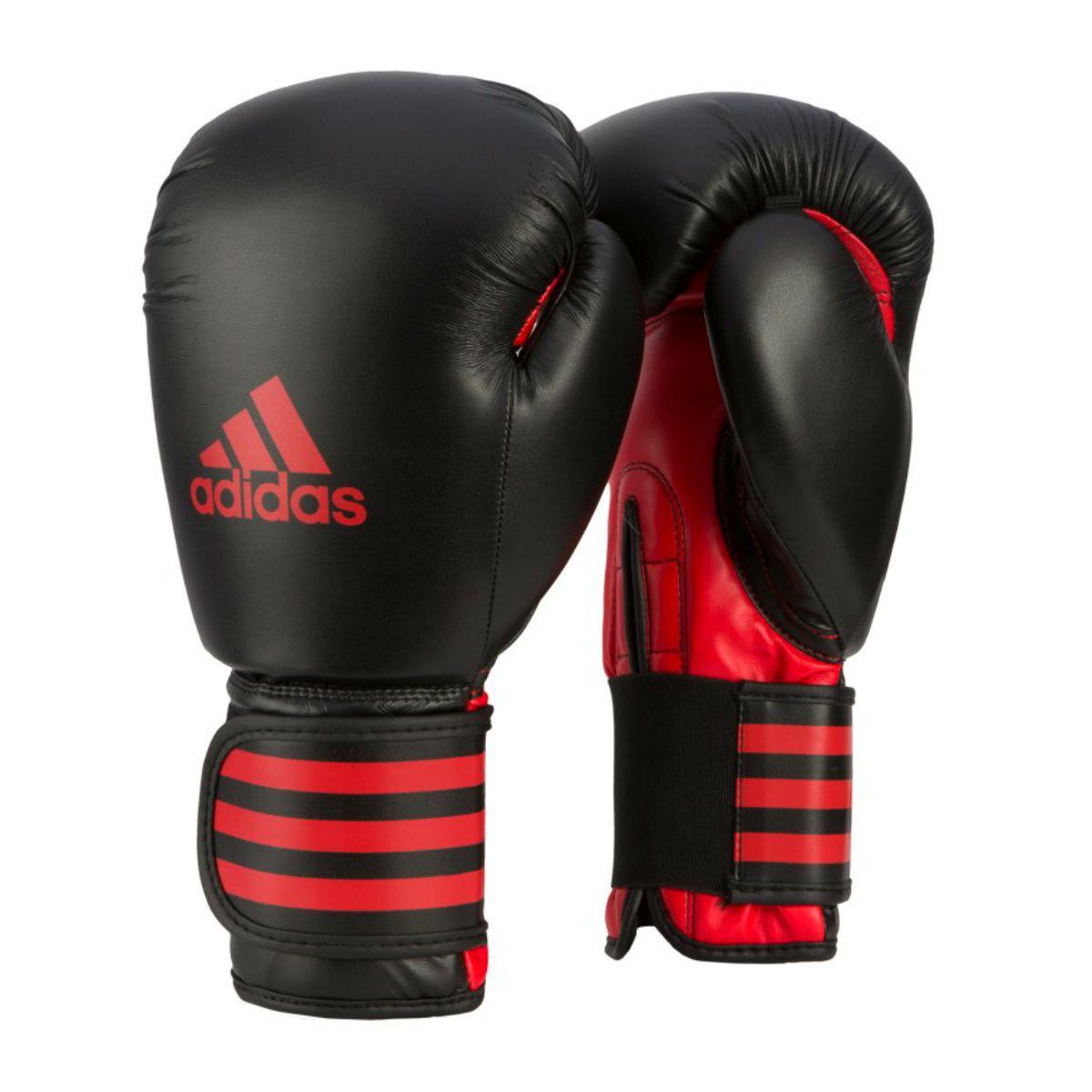 99701f7f5 Luva de Boxe Adidas Power 100 Preto Vermelho - Made4fighters