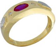 Anel de Formatura - 105 - Pedras Sintéticas