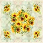 Kit Painel Floral - Girassol