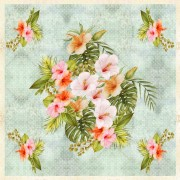 Kit Painel Floral - Hibisco
