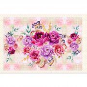 Painel Floral Rosas