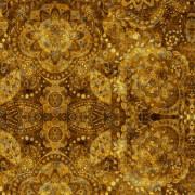 Tecido Boho Dourado