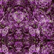Tecido Boho Púrpura