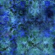 Tecido - Damasco Azul Escuro  (50x150cm)
