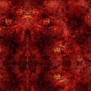 Tecido - Damasco Vermelho  (50x150cm)