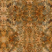 Tecido - Garden Laranja  (50x150cm)