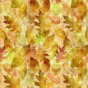 Tecido Outono Amarela