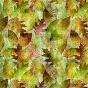 Tecido Outono Verde