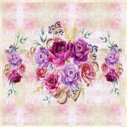 Tecido Painel Rosas