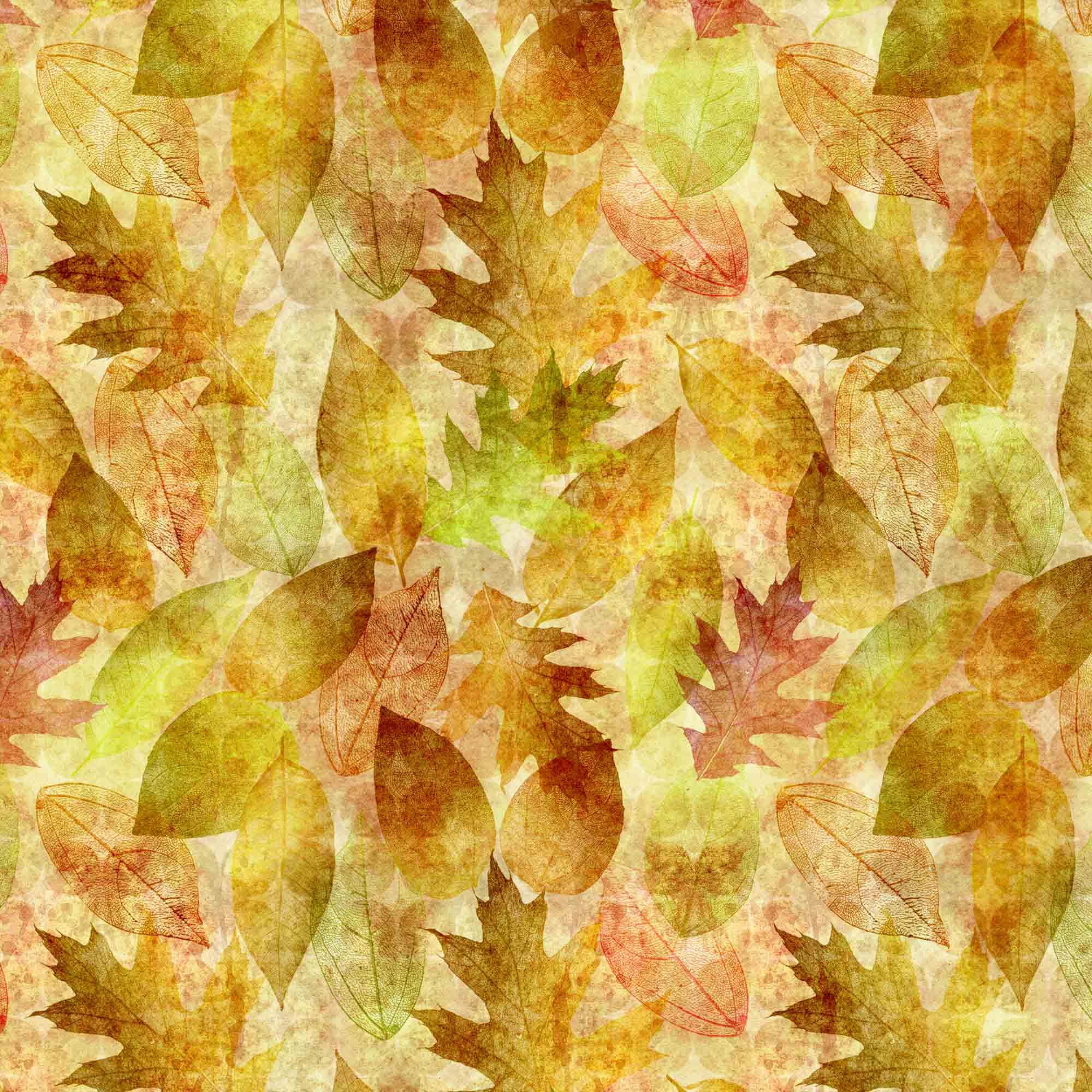 Tecido Outono Amarelo