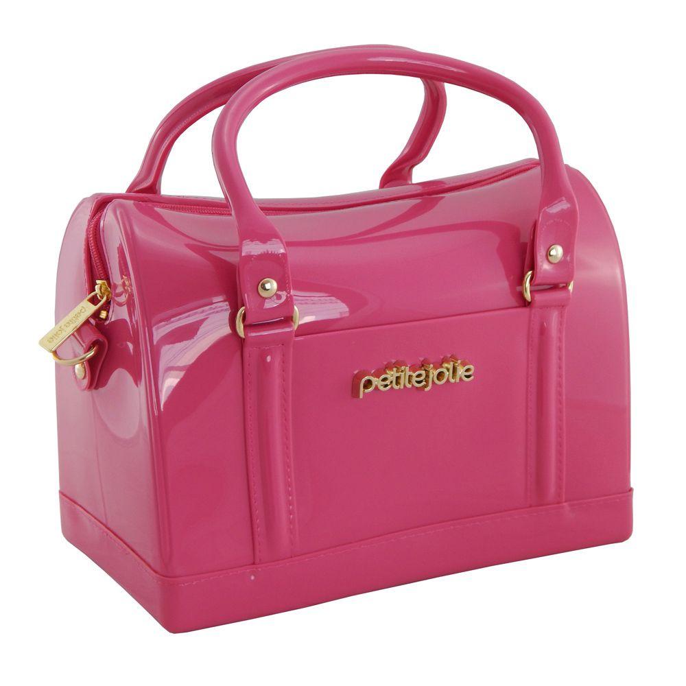 aba5759bd ... Bolsa Feminina Petite Jolie Bloom Baú Happy Pink Pj1540 - ALLTENTICA ...