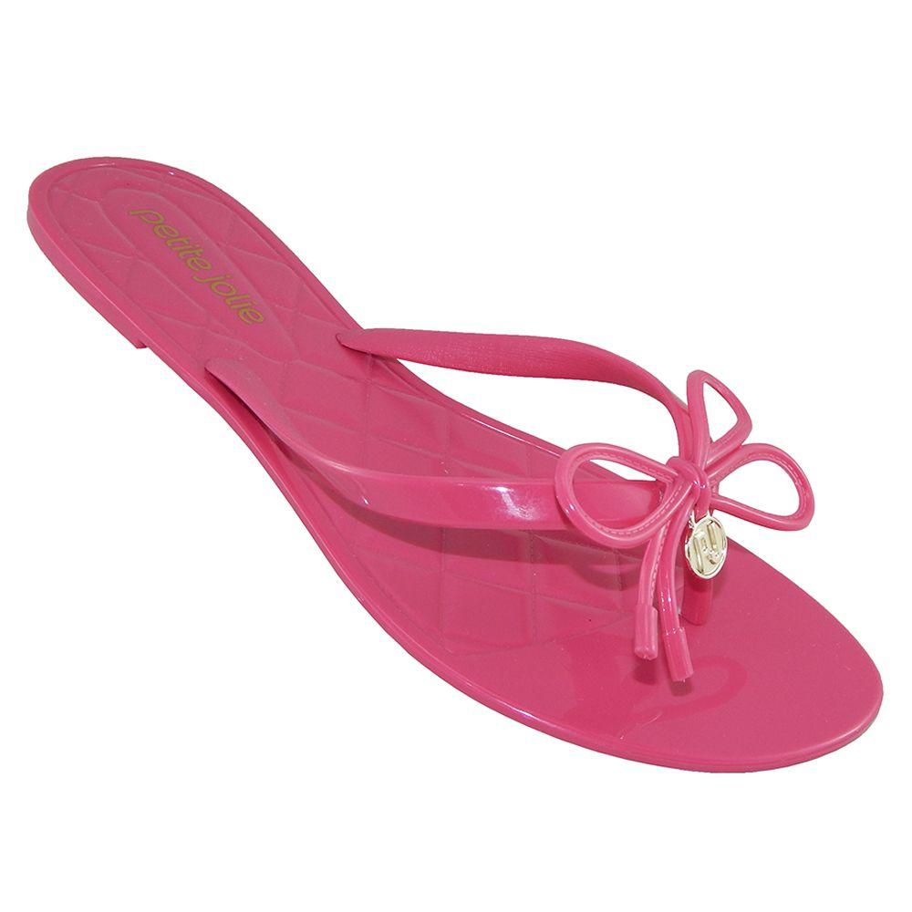 20bb602d0b Chinelo Petite Jolie Feminino Express Verniz Happy Pink PJ2272 - ALLTENTICA  ...