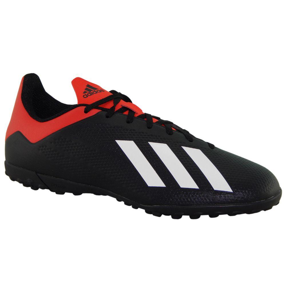 4ffbad6a1ab Chuteira Adidas Tango X18.4 Society Preto Vermelho BB9412 - ALLTENTICA ...