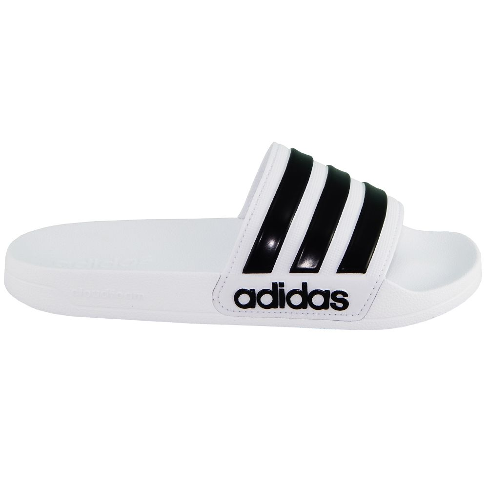 b23ca8729 Chinelo Slide Adidas Adilette Shower Cloudfoam Branco AQ1702