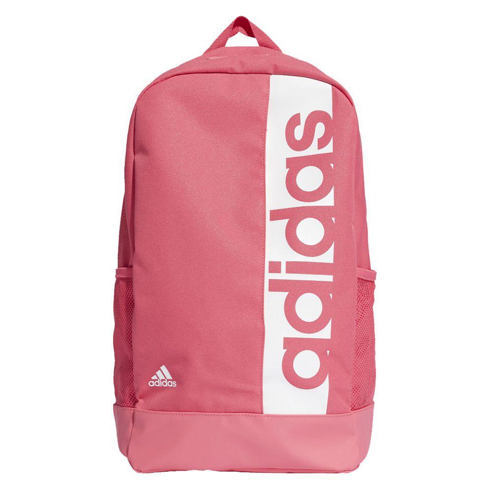 9611174c4 Mochila Adidas Linear Performance Pink Branco DM7660 - ALLTENTICA ...