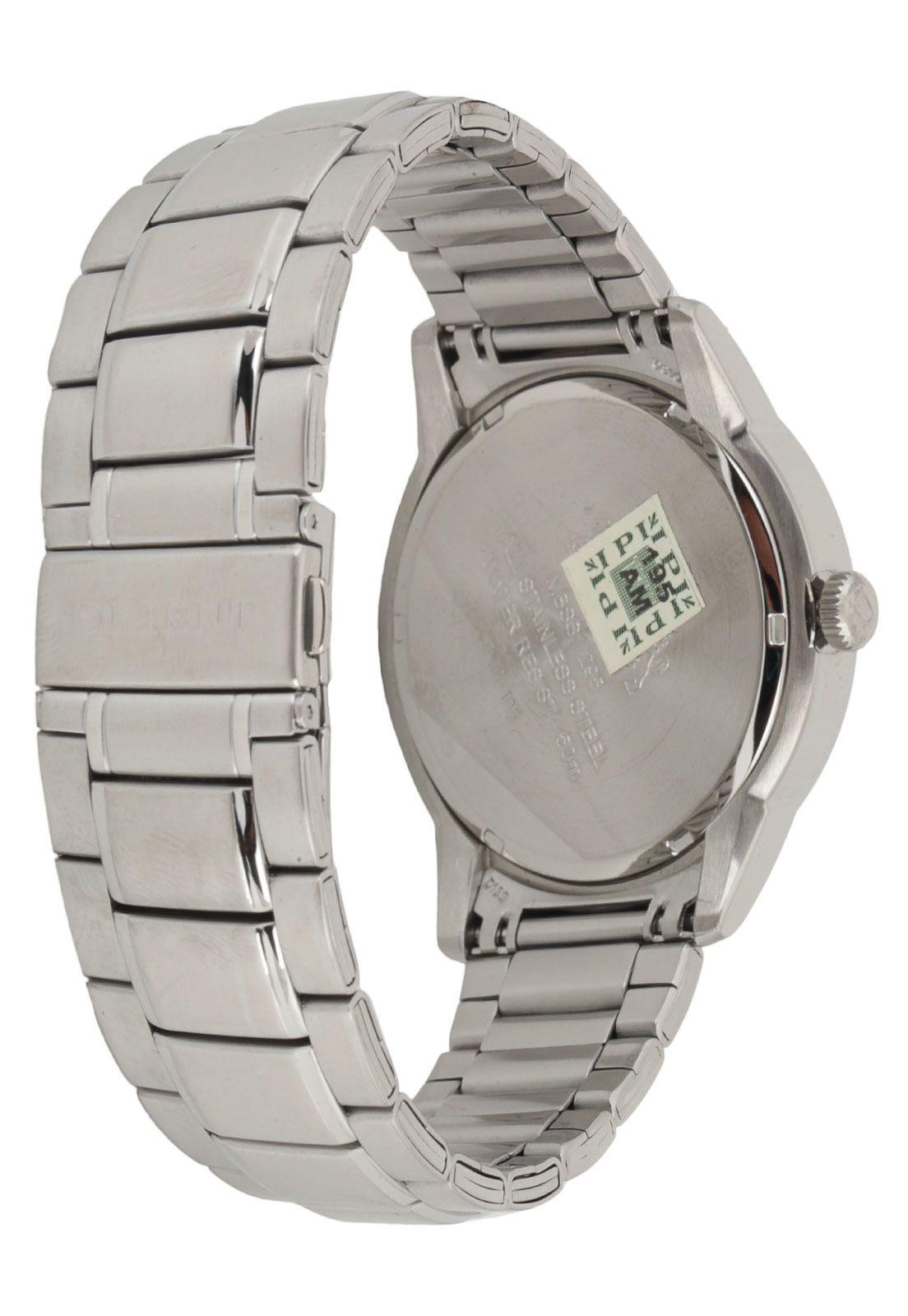 a1ba2968ef6 ... Relógio Orient Masculino Prata Pulseira Aço Mostrador Preto Resistência  50M Caixa 47mm Mbss1295 - ALLTENTICA ...