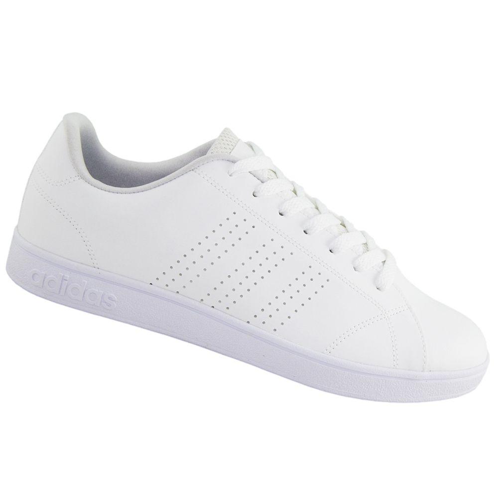 6315545a1 Tênis Adidas Advantage VS Clean Neo Branco B74685 - ALLTENTICA ...