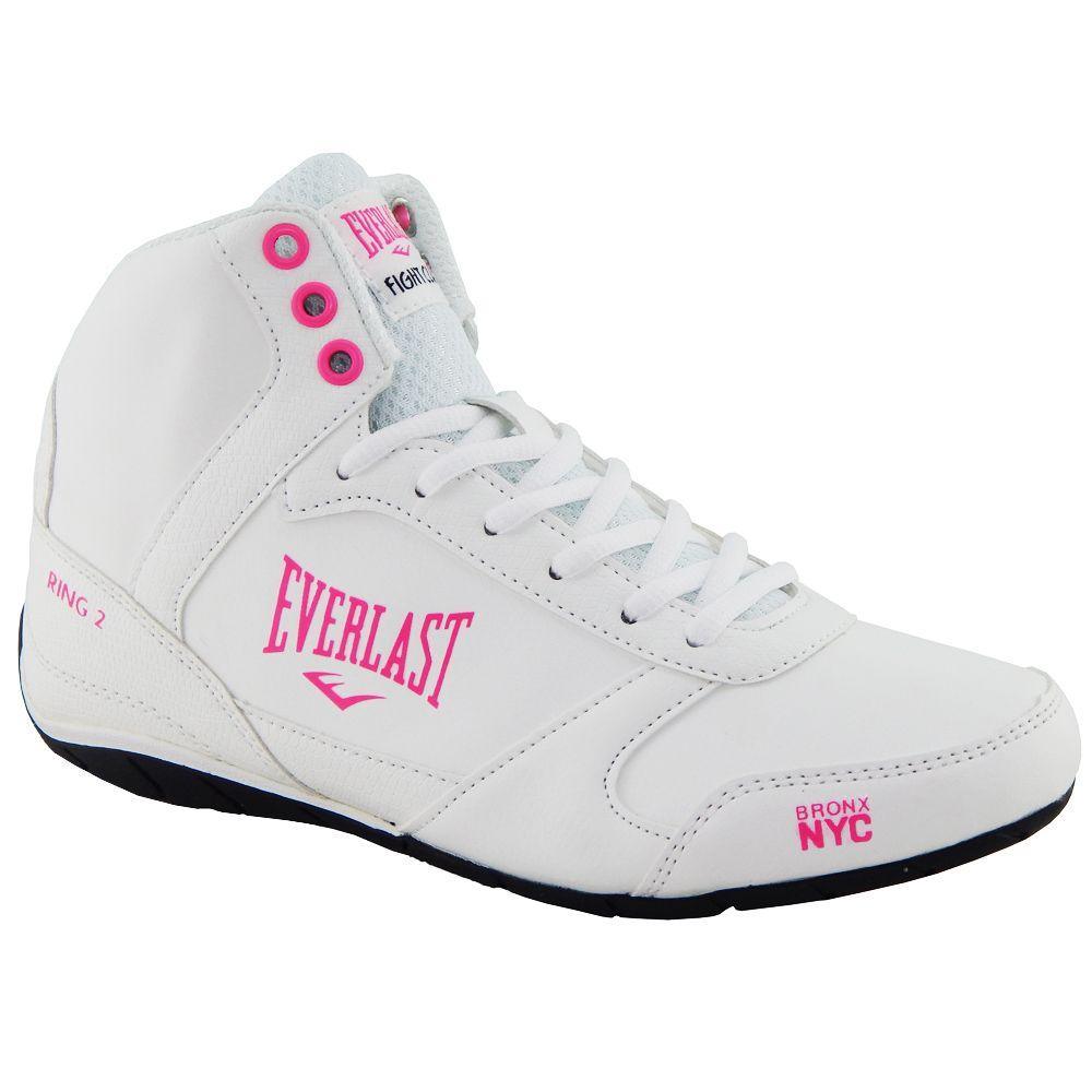 f521708d6 Tênis Everlast Ring 2 Feminino Branco Pink - ALLTENTICA ...