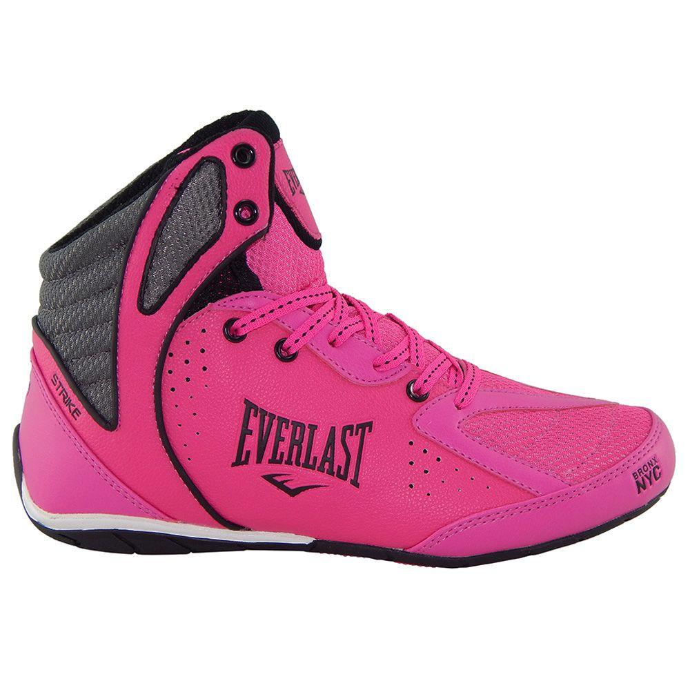 3b353db68 ... Tênis Everlast Strike Feminino Pink Preto - ALLTENTICA ...
