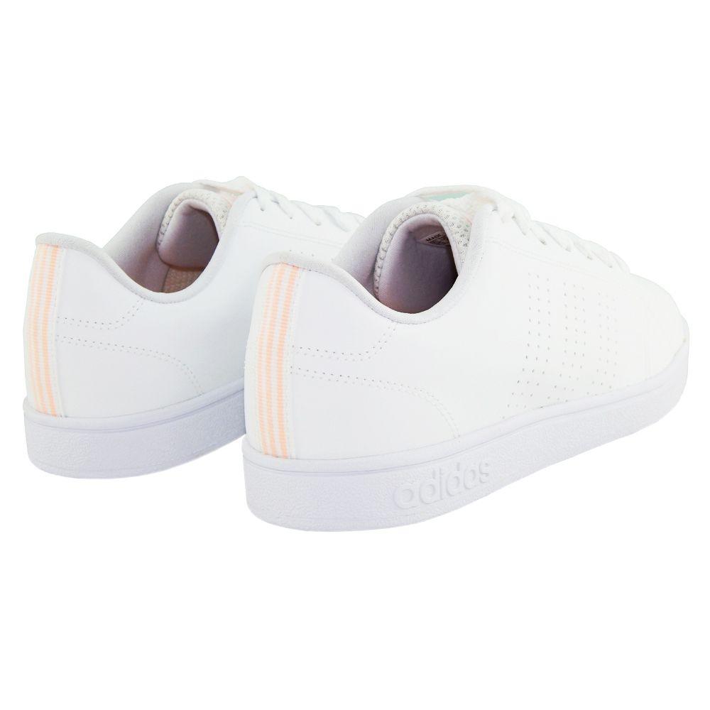ce7cd33f0 ... Tênis Adidas Feminino Advantage VS Clean Neo Branco DB0581 - ALLTENTICA  ...