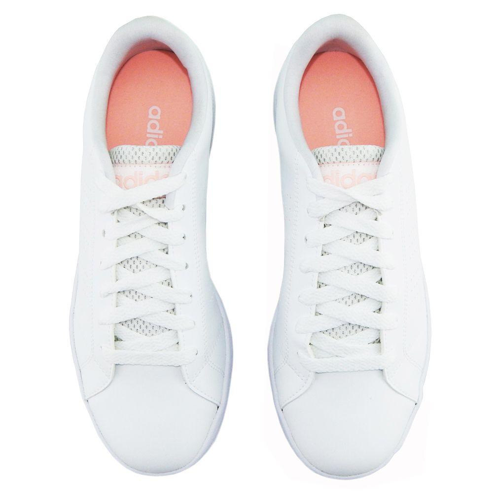 9136e735d ... Tênis Adidas Feminino Advantage VS Clean Neo Branco DB0581 - ALLTENTICA
