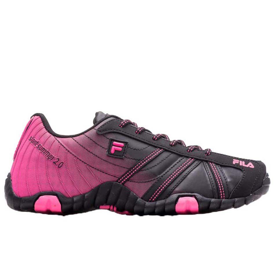 35263c3a217 ... Tênis Fila Slant Summer 2.0 Feminino Outdoor Women 11O172X Preto Pink -  ALLTENTICA ...