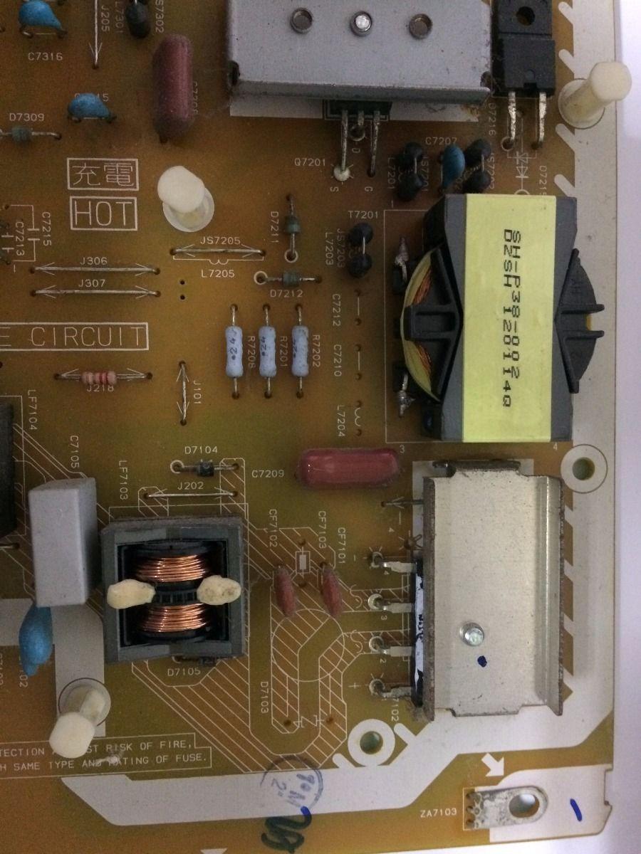 Placa Da Fonte Panasonic Tc-l47e5bg - Usado