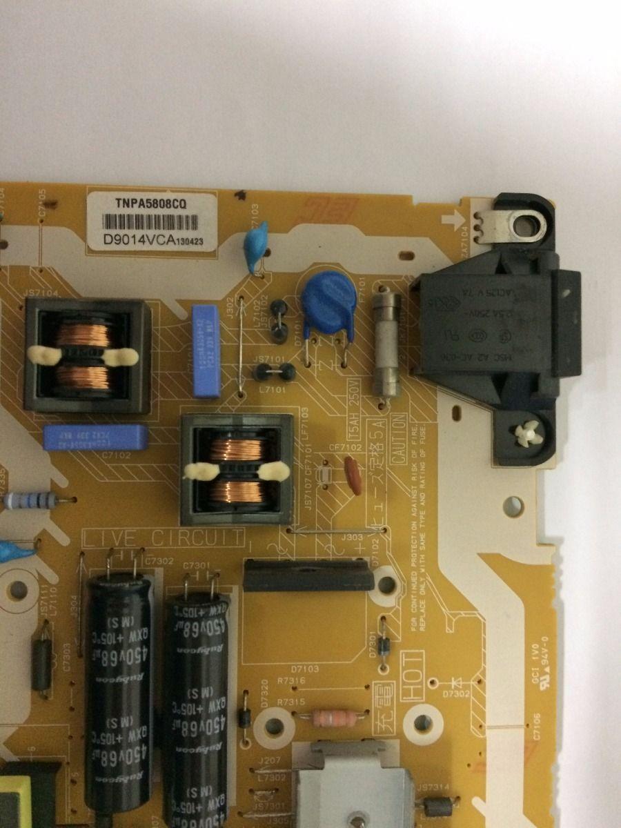 Placa Da Fonte Panasonic Tcl32b6b - Usado
