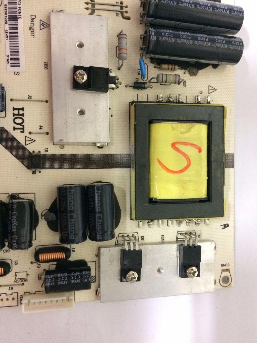 Placa Fonte Cce L322   - Usado