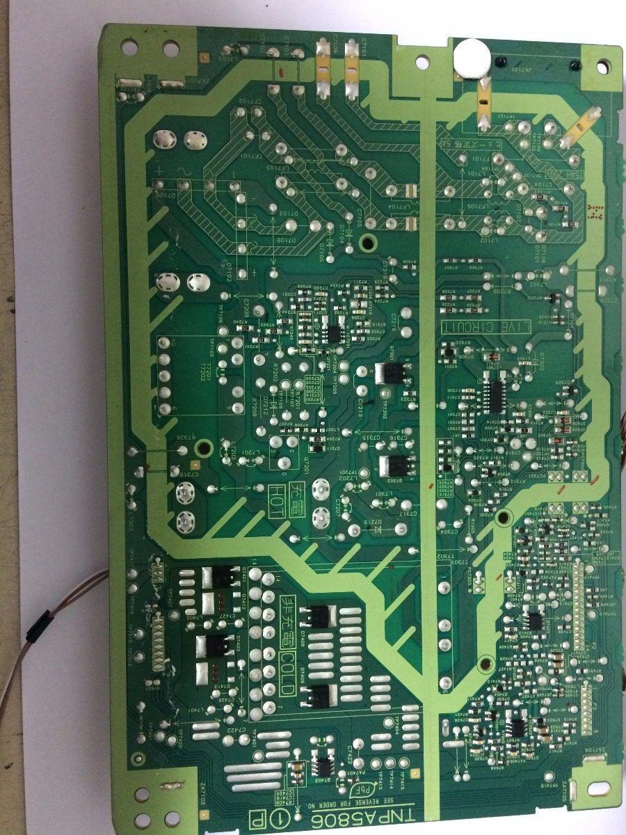 Placa Fonte Panasonic Tc-l39b6b - Usado