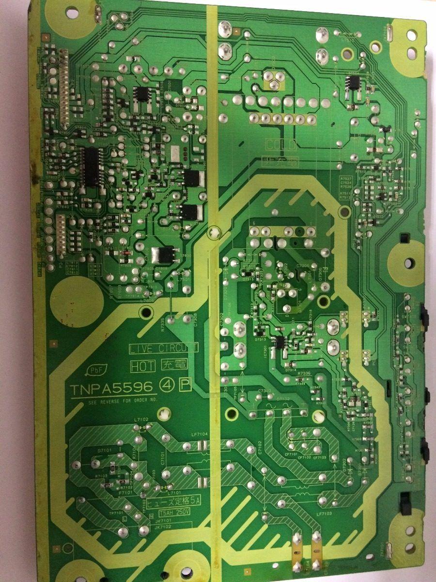 Placa Fonte Panasonic Tcl32x5 - Usado
