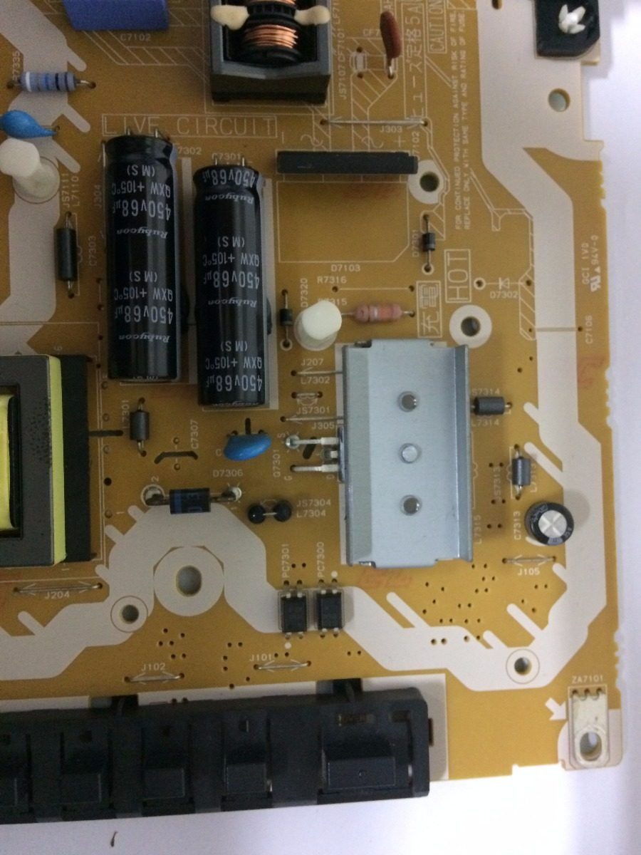 Placa Fonte Panasonic Tcl32xm6b - Usado