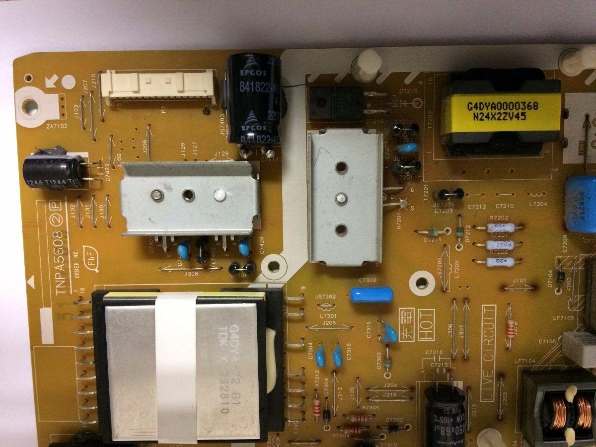 Placa Fonte Panasonic Tcl42e5bg - Usado