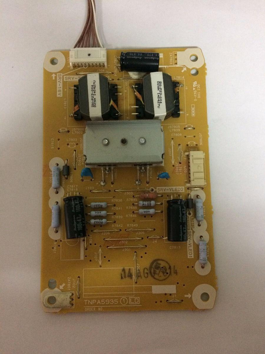 Placa Inverter Panasonic Tc-l42as610 - Usado