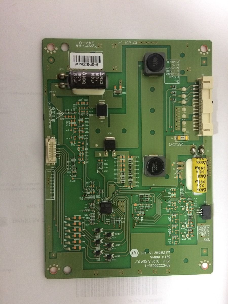 Placa Inverter Panasonic Tc-l42e5bg - Usado
