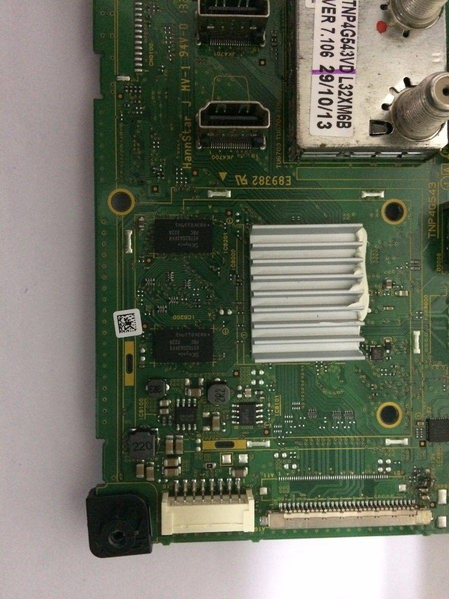 Placa Principal Panasonic Tcl32xm6b - Usado