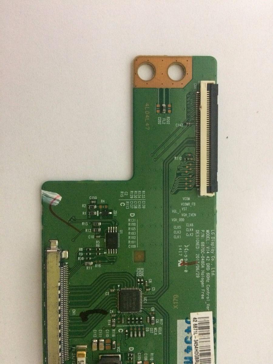 Placa T Con Panasonic Tc-42as610b - Usado