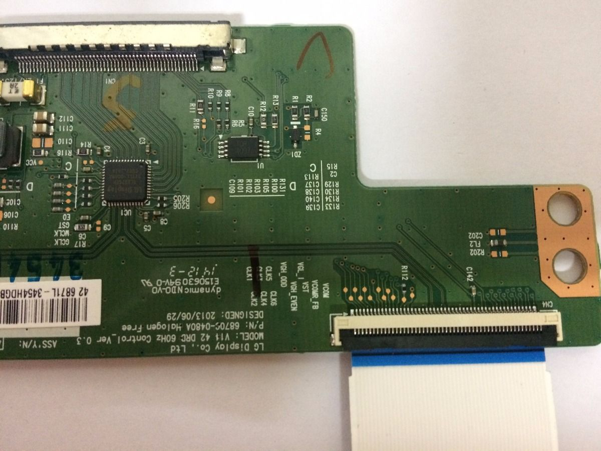 Placa T Con Panasonic Tc-l42as610 - Usado
