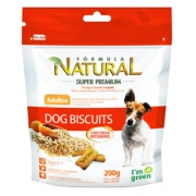 BISCOITO FORMULA NATURAL BISCUITS 200 GR