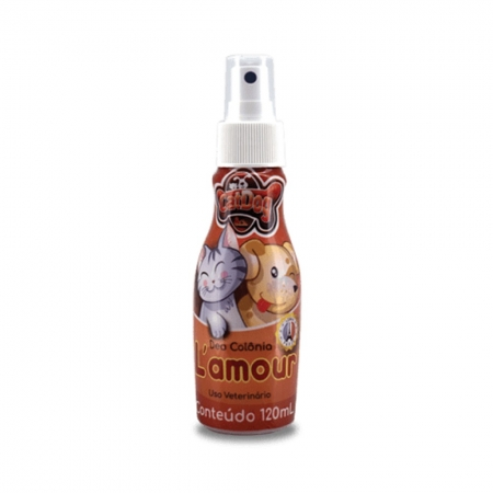 DEO COLONIA CAT & DOG L AMOUR 120 ML