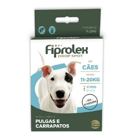 FIPROLEX DROP SPOT CAES 11 A 20 KG 1,34 ML
