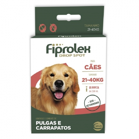 FIPROLEX DROP SPOT CAES 21 A 40 KG 2,68 ML