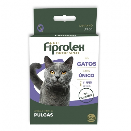 FIPROLEX DROP SPOT GATOS 0,5 ML