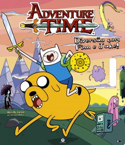 Adventure Time: Diversão com Finn e Jake - Coleção Megalivro de Atividades