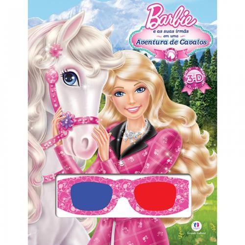Barbie e as Suas Irmãs em uma Aventura de Cavalos - Livro 3d