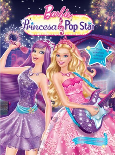 Barbie Princesa & Pop Star - Coleção Adesivos Filmes da Barbie