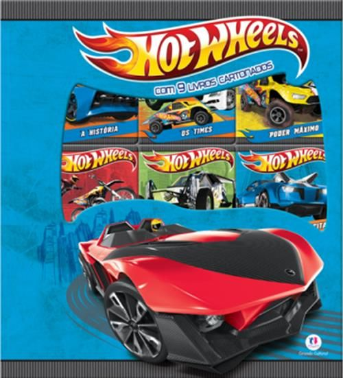 Box Hot Wheels - 9 Volumes