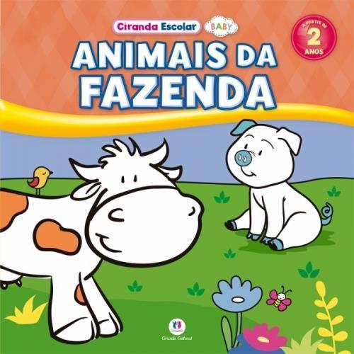 Ciranda Escolar Baby: Animais da Fazenda